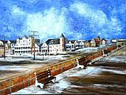 New Jersey Painting Originals - Ocean Grove by Leonardo Ruggieri