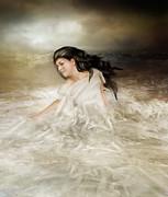 Ocean Pearl Print by Karen H