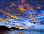 Ocean Sky Print by Susan Jenkins