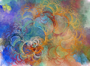 Swirl Originals - Ocean Sunrise by East Coast Barrier Islands Betsy A Cutler