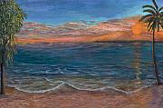 Big Sur Beach Originals - Ocean Sunset Series- Solitude II by Rita Cortesi
