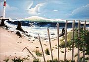 Oceans Breez Print by Susan Roberts