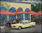 Edward Williams Prints - Oceans10SouthBeach Print by Edward Williams