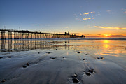 Oceanside Prints - Oceanside Pier Print by Peter Tellone