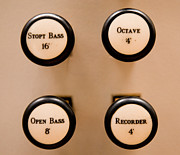 Push Button Prints - Octave 4 Print by Photo By Tedfoo