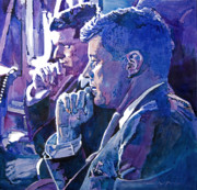 Jfk Paintings - October 1962 by David Lloyd Glover