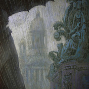 Rain Drawings - October by Aleksey Zuev