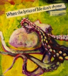 Text Mixed Media Prints - Octopus Print by Tilly Strauss