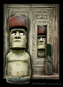 Surrealistic Framed Prints - Odd Man Out Framed Print by Suni Roveto