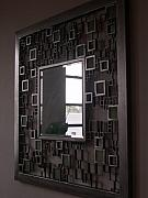 Mirror Sculptures - Ode to Cubism by Janet Rutkowski