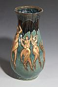 Art Vase Ceramics - Ode to Matisse the Dancers by Dan Earle