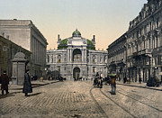 Richelieu Prints - Odessa -Rue Richelieu - Ukraine - ca 1900 Print by International  Images