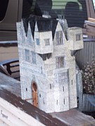 House Sculptures - Odonnell Castle by Gordon Wendling