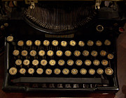 Typewriters Photos - Of Times Gone By by Ernie Echols