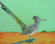 Birds Pastels Prints - Of Two Minds Print by Tracy L Teeter