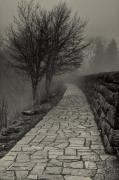 Off Into The Fog Print by Andrew Soundarajan