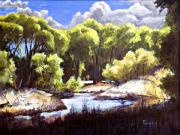 Prescott Paintings - Off Peavine Trail by Bob Duncan