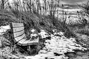 Benches Photos - Off Season by JC Findley