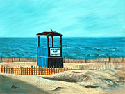 Lakeshore Paintings - Off Season by Judi Kruis