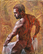 Male Mixed Media - Offering by Chris  Lopez