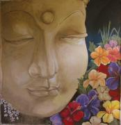 Large Format Originals - Offering to Buddha by Patrick Bornemann