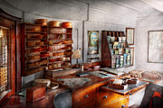 Accountant Photos - Office - The Pursers room by Mike Savad