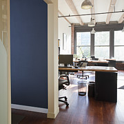 Office Space Prints - Office Interior Print by Jetta Productions, Inc