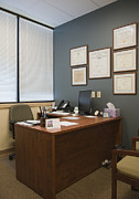 Office Space Framed Prints - Office Space Framed Print by Andersen Ross