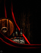 Liquor Store Prints - Oh Jack Print by Lourry Legarde