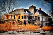 "\\\""haunted House\\\\\\\"" Metal Prints - Oh the Memories Metal Print by Emily Stauring"