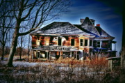 Old Houses Metal Prints - Oh the Stories Metal Print by Emily Stauring