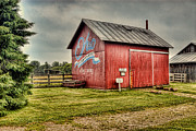 Ohio Barn Print by Mary Timman