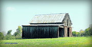 Old Barns Photo Originals - Ohio Barn Series by William Gerardino