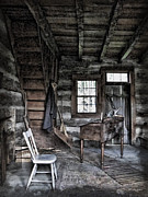 In The Bath Prints - Ohio Cabin Print by Joan  Minchak