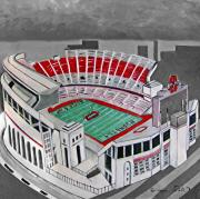 Joseph Palotas Art - O.H.I.O Ohio State Stadium by Joseph Palotas