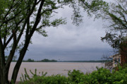 Indiana Rivers Prints - Ohio River Print by Sandy Keeton