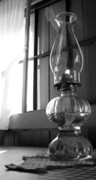 Oil Lamp Prints - Oil lamp Print by Earl Cockerham
