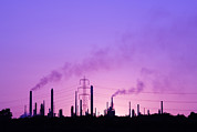 Esso Photos - Oil Refinery by Paul Rapson
