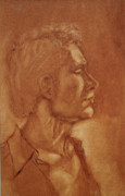 Thomas Hoyle - Oil Wash Portrait