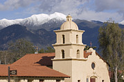 Winter Landscapes Framed Prints - Ojai Visitor Center Framed Print by Rich Reid