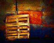 Pallet Metal Prints - Okanagan Pallet Metal Print by Bill Kellett