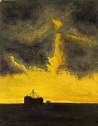 Rural Scene Originals - Oklahoma Thunderstorm by Garry McMichael