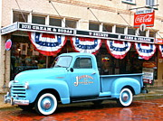 4th July Photo Originals - Ol Blue on the 4th of July by Gypsy McKinna