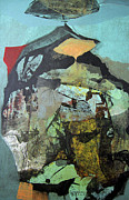 Cosmic Paintings - OL1958AR001BA Abstract Landscape of Potosi Bolivia 22.6 x 36.3 by Alfredo Da Silva