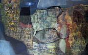 Cosmic Paintings - OL1959AR001BA Abstract Landscape of Potosi Bolivia 21.6 x 36 by Alfredo Da Silva