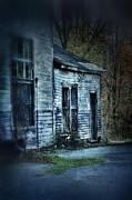 No Trespassing Prints - Old Abandoned Building Print by Jill Battaglia