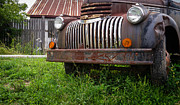 New England Art - Old Abandoned Pickup Truck by Edward Fielding