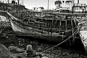 Spoiled Framed Prints - Old abandoned ship Framed Print by RicardMN Photography