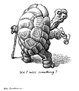 Old Age, Conceptual Artwork Print by Bill Sanderson