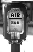 Old Air Pump Print by Arni Katz